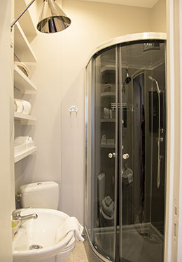 Paris Apartment Studio Bathroom
