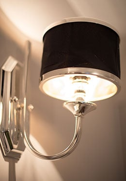 Stylish Wall Lights Paris Studio Apartment