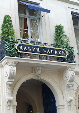 Ralph Lauren Store in Paris