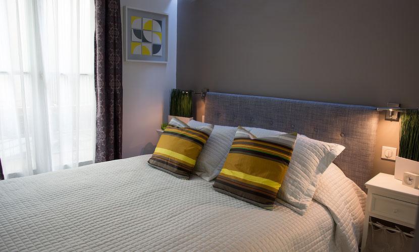 Master Bedroom Paris Vacation Rental