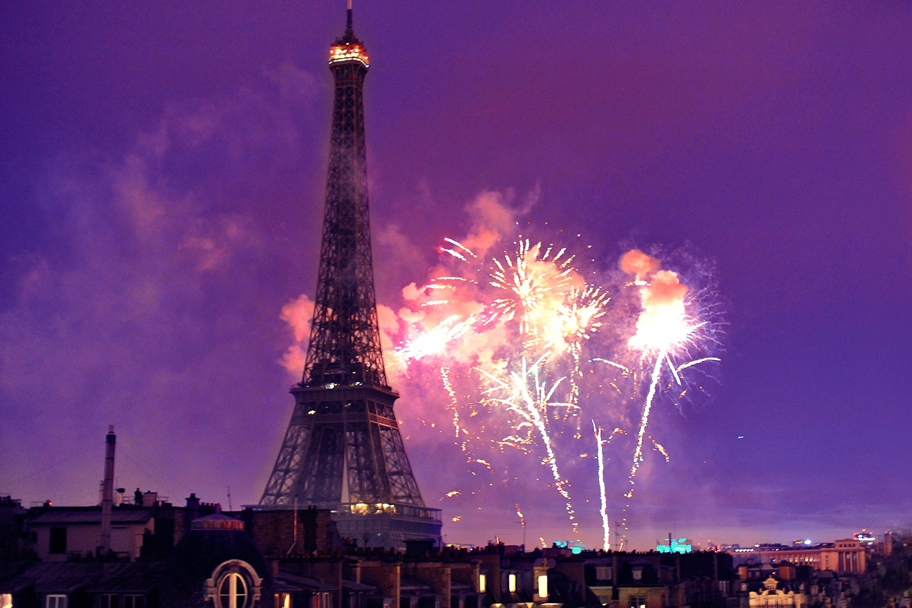 Paris Apartment Bastille Day Fireworks