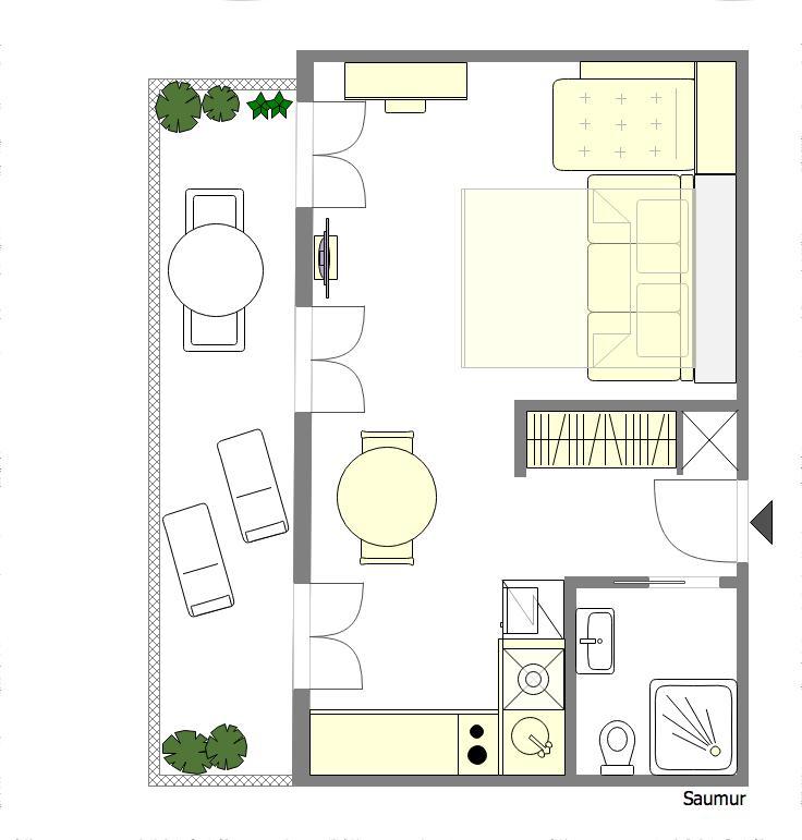 Floor Plan Saumur