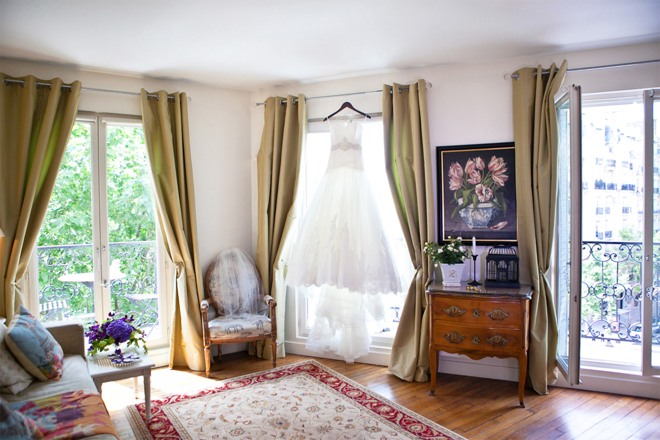 The stunning Champagne apartment is perfect for weddings
