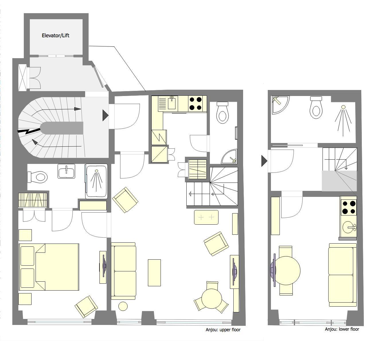Anjou Floorplan