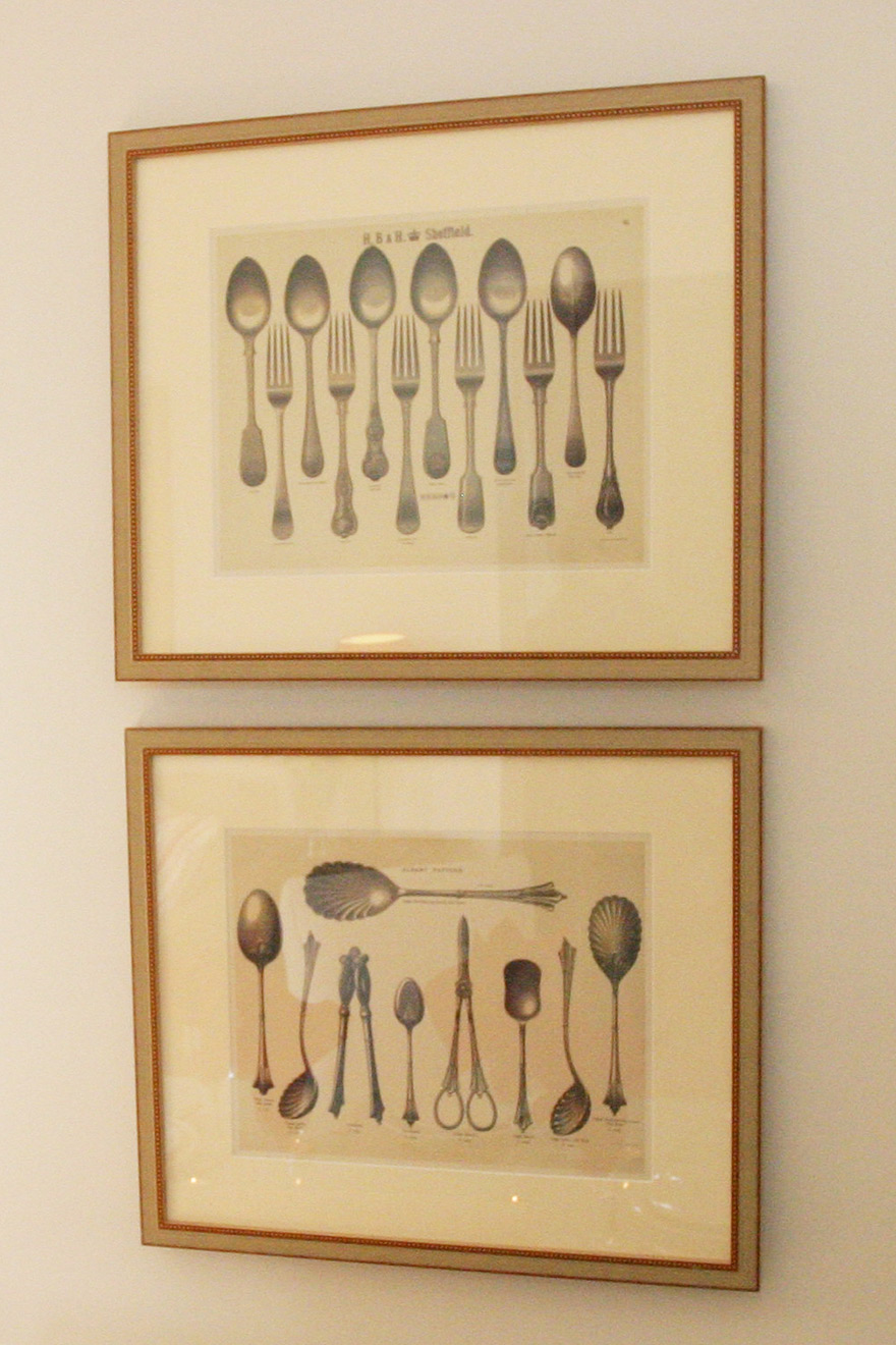 Antique French Cutlery Prints