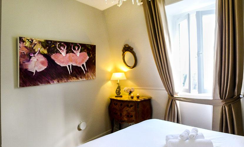 Apartment in Paris Bedroom