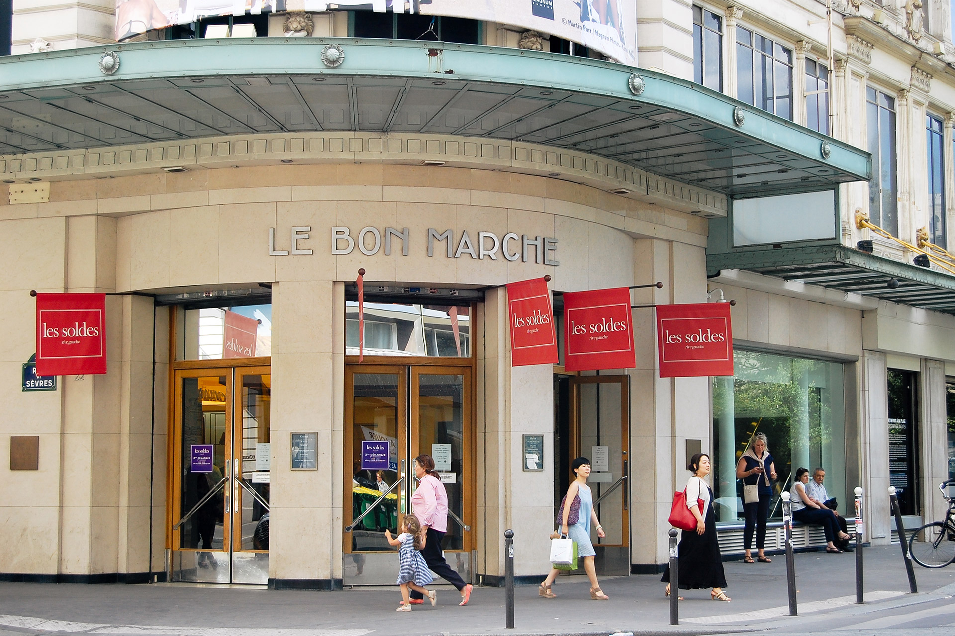 Just down the road from the iconic Le Bon Marché department store