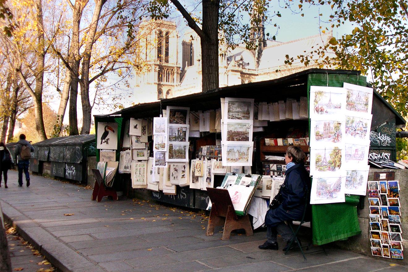 Seine River Booksellers Paris