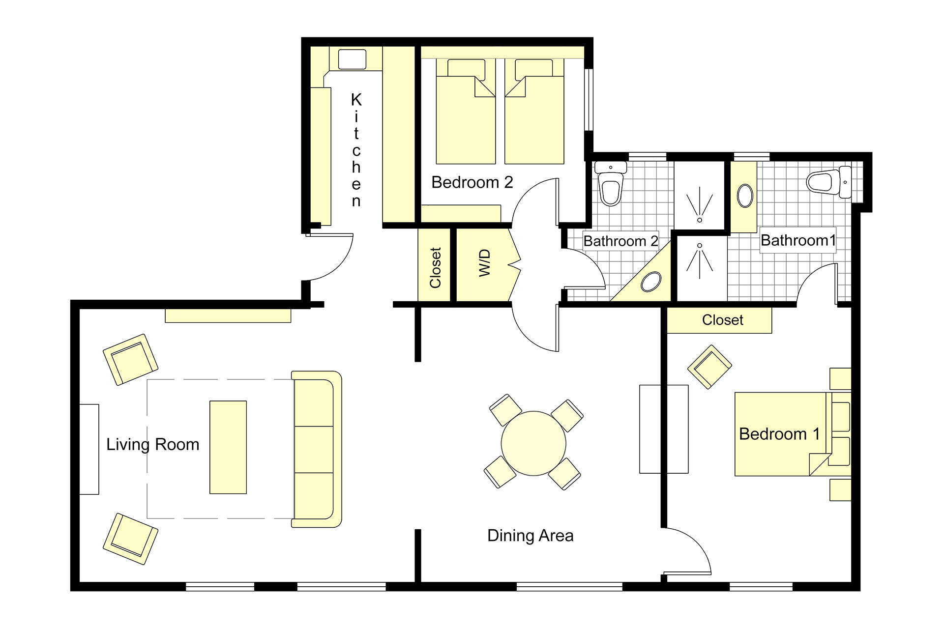 Bourgogne floorplan