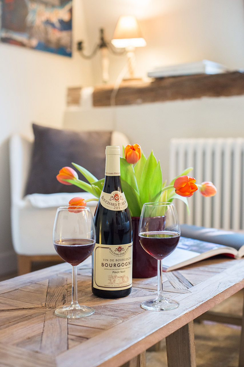 After a day of exploring come back to relax at the Brittany vacation rental offered by Paris Perfect