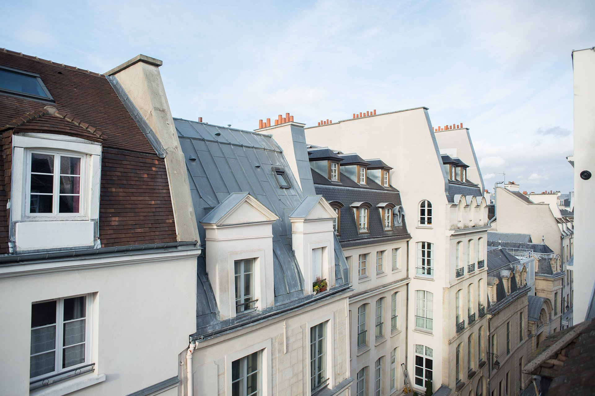 Stay in the stunning Marais neighborhood in the Brittany vacation rental offered by Paris Perfect