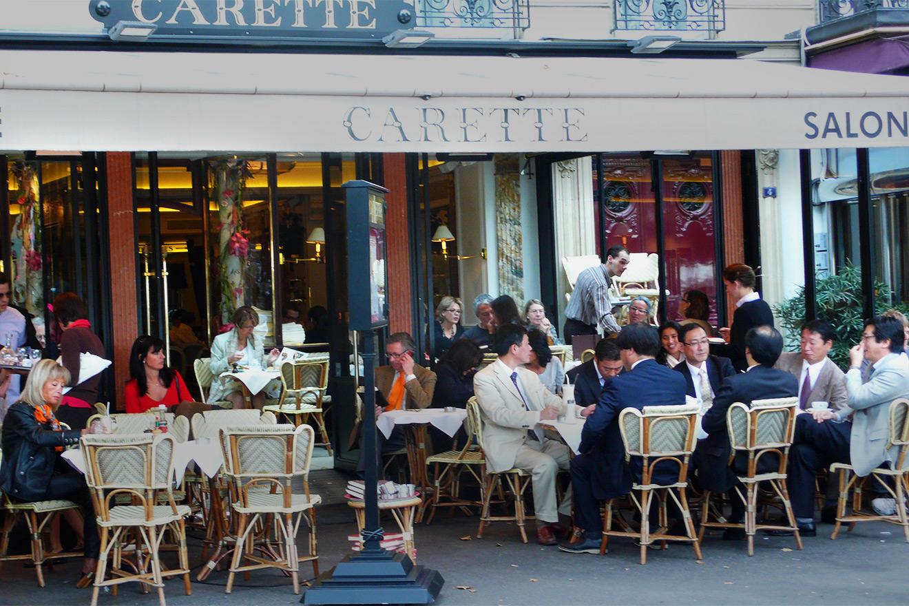 Paris cafes