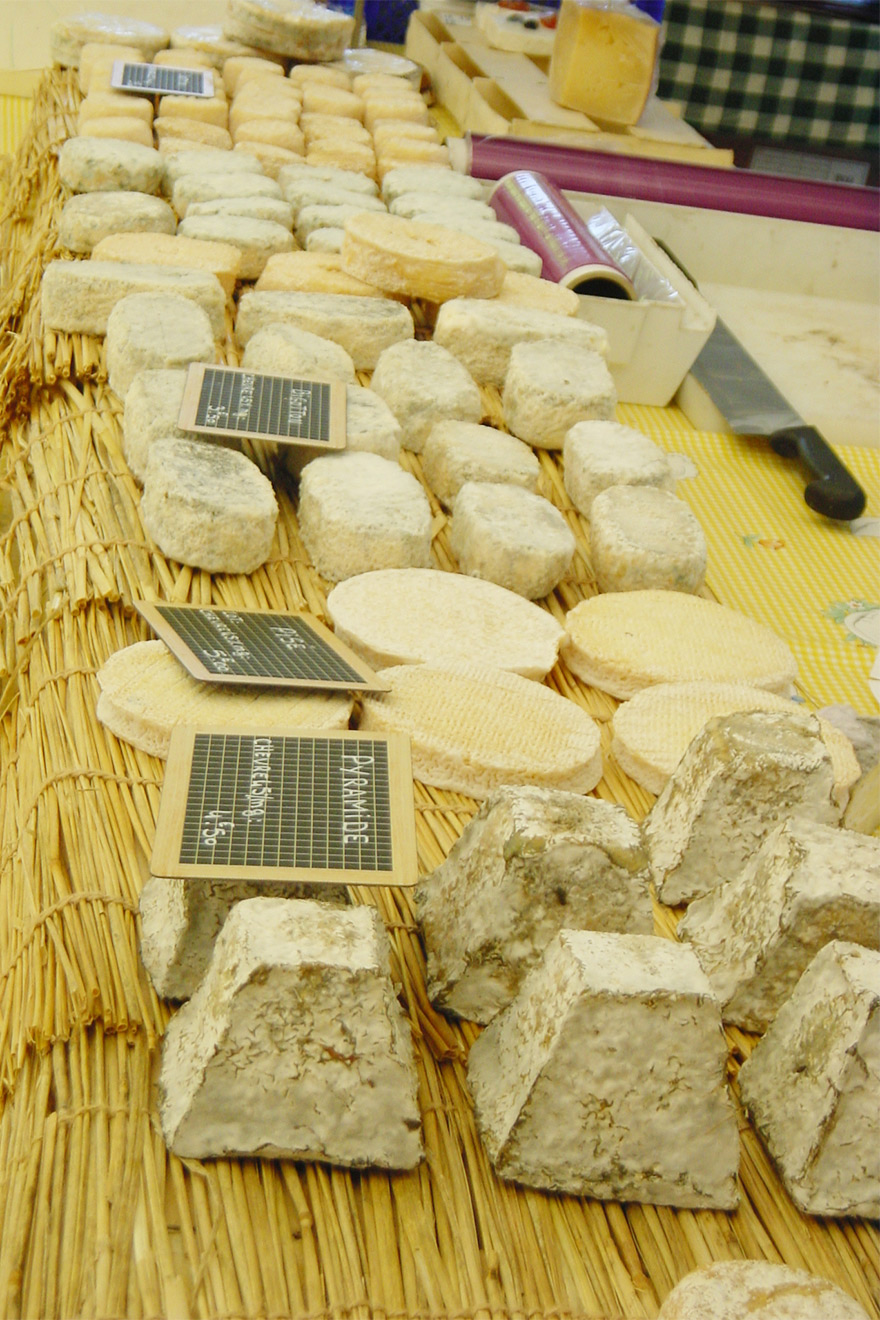 Buying authentic French cheese to keep in your rental