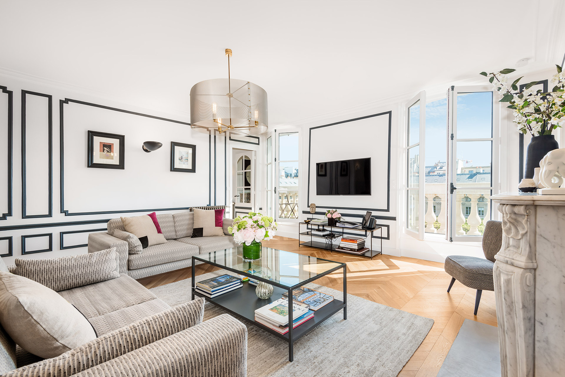 Chevalier duplex vacation rental by Paris Perfect