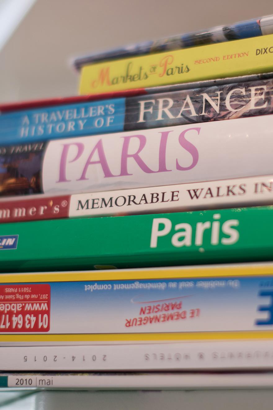 Paris Themed Books
