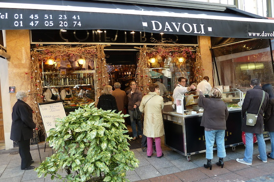 Enjoy shopping and dining on rue Cler in Paris
