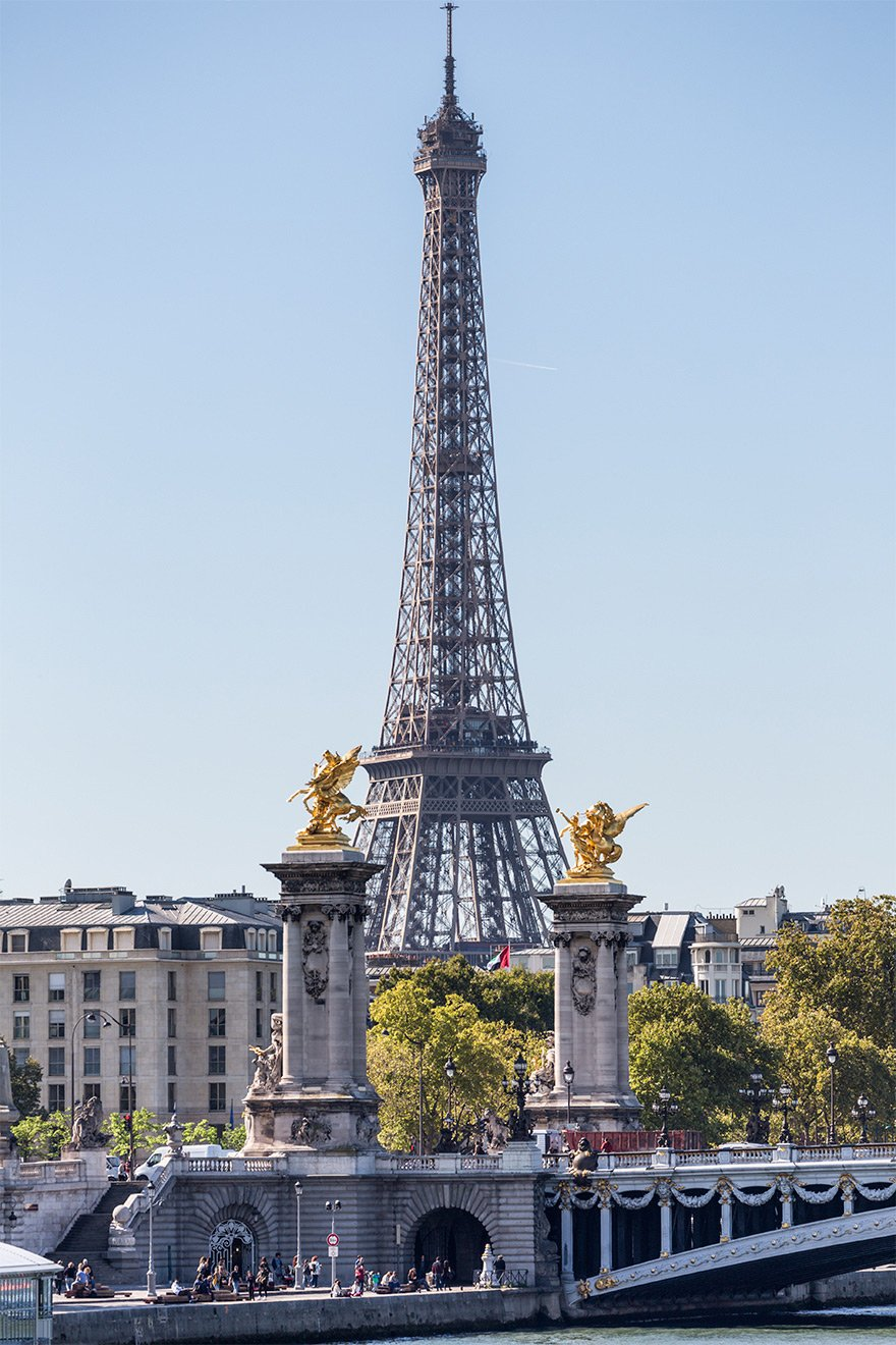See the iconic Eiffel Tower