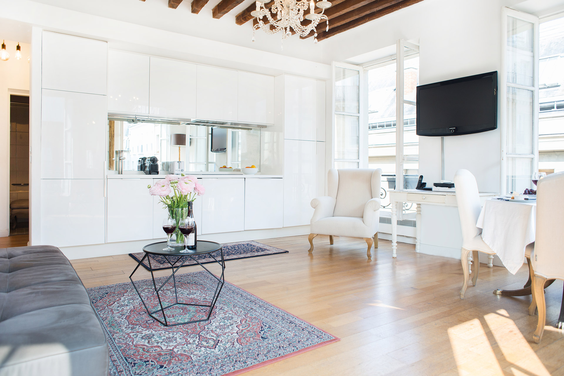 Decor in the Forez vacation rental offered by Paris Perfect