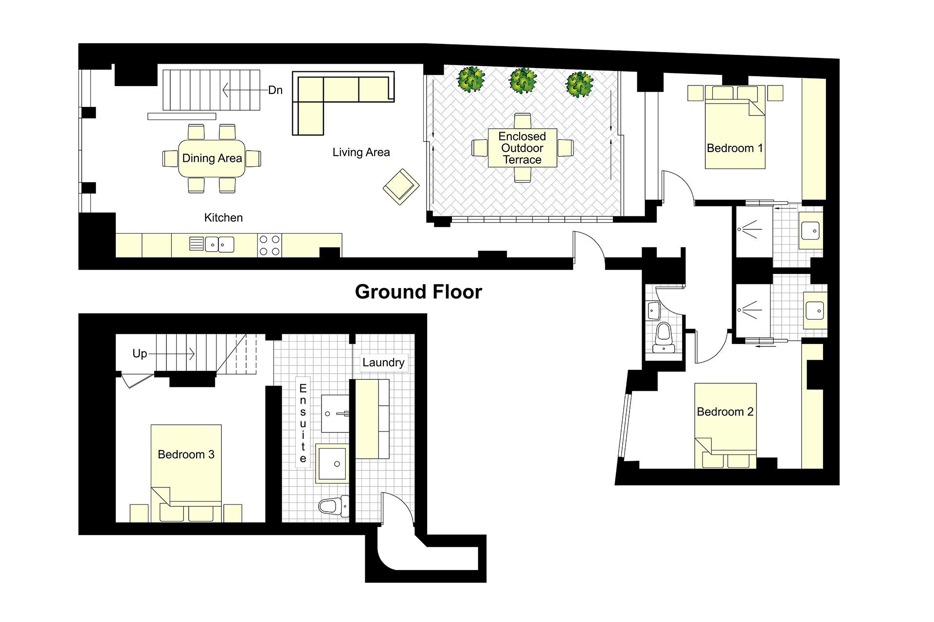 Lascombes floorplan