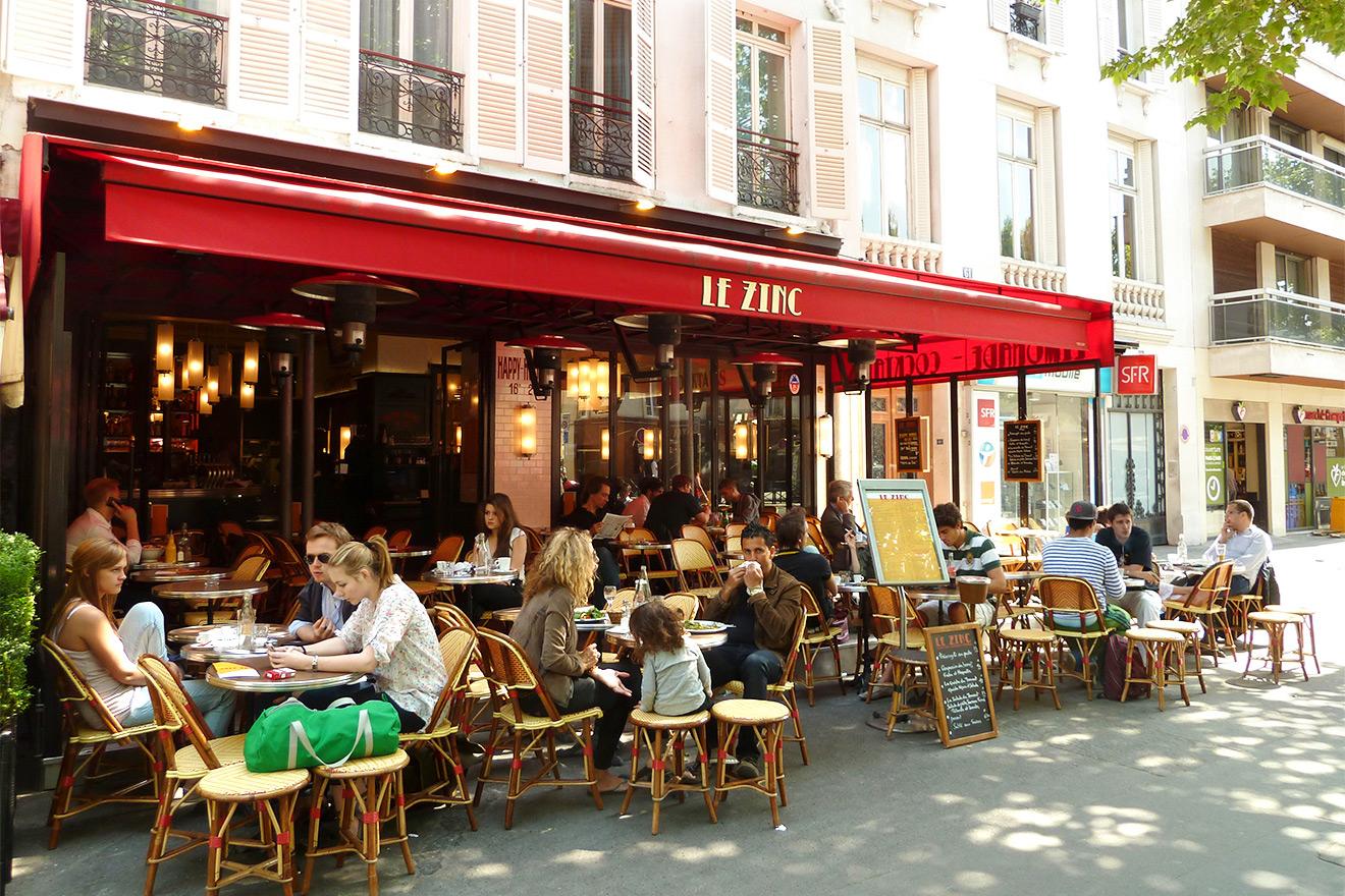 Sidewalk Cafes Paris
