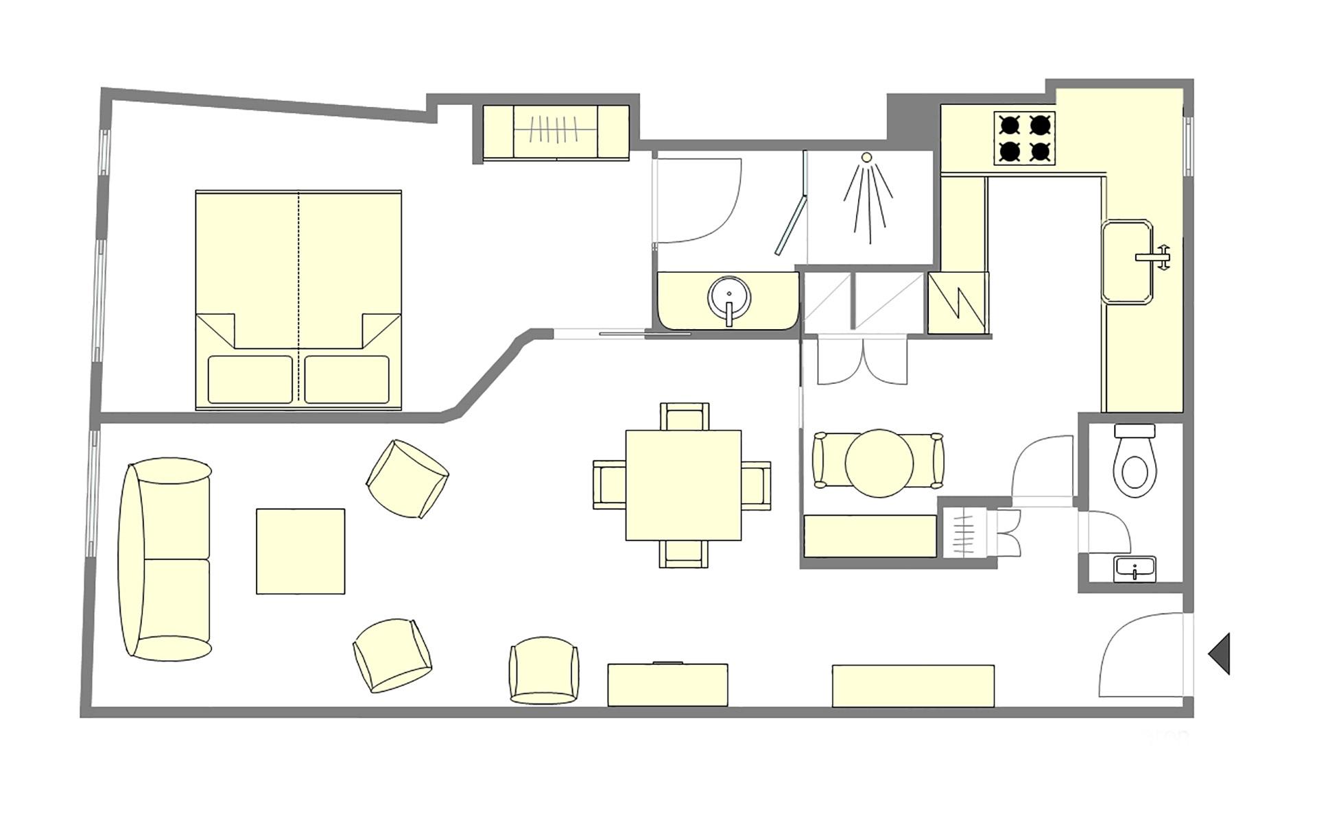 Lussac Floorplan