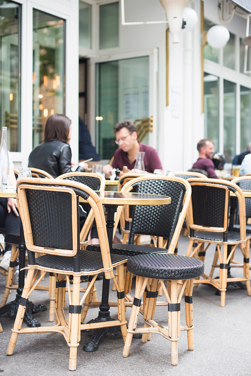 Sit at a local café and soak in the Parisian atmosphere