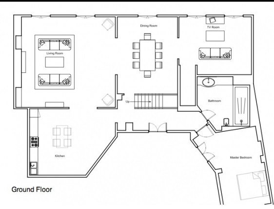 Floorplan Paris Apartment