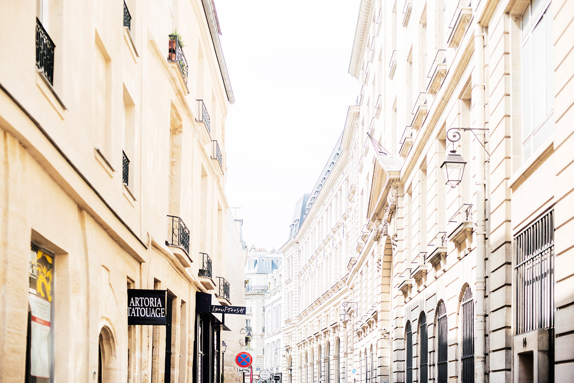 Chic and historic Marais neighborhood