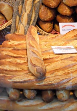 Enjoy fresh baguettes for breakfast