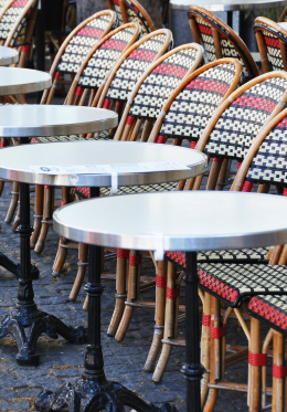 Pick your seat at a local café