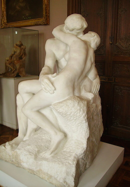 The Kiss - Rodin Museum, Paris