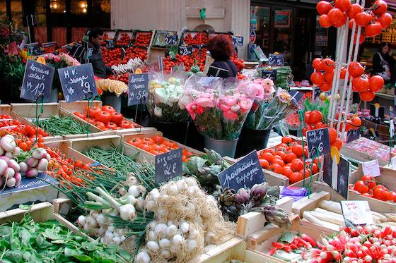 Rue Mouffetard Market paris