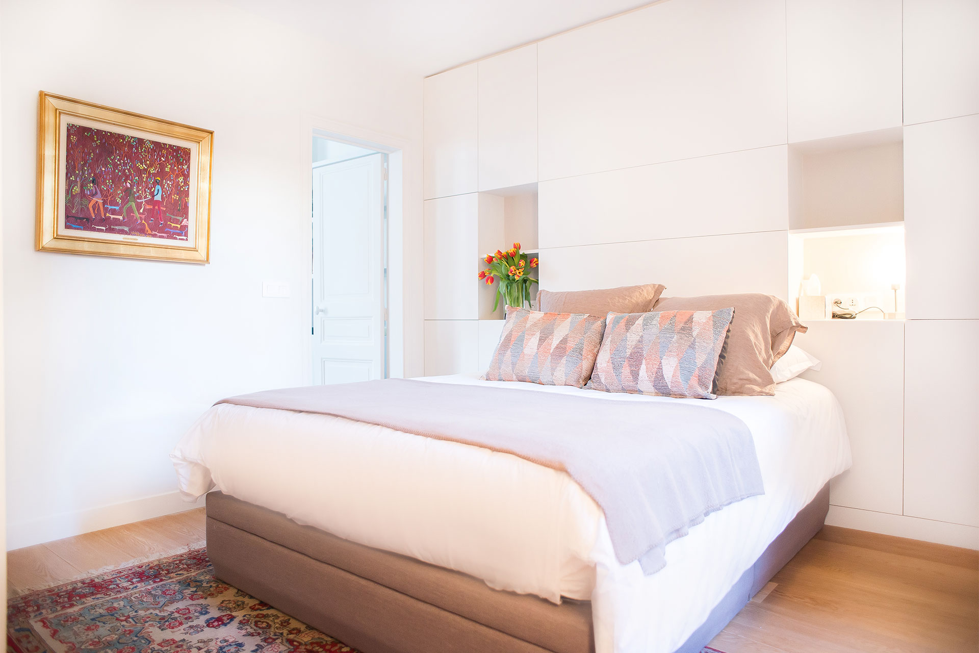 Private bedroom in the Saint-Bris vacation rental