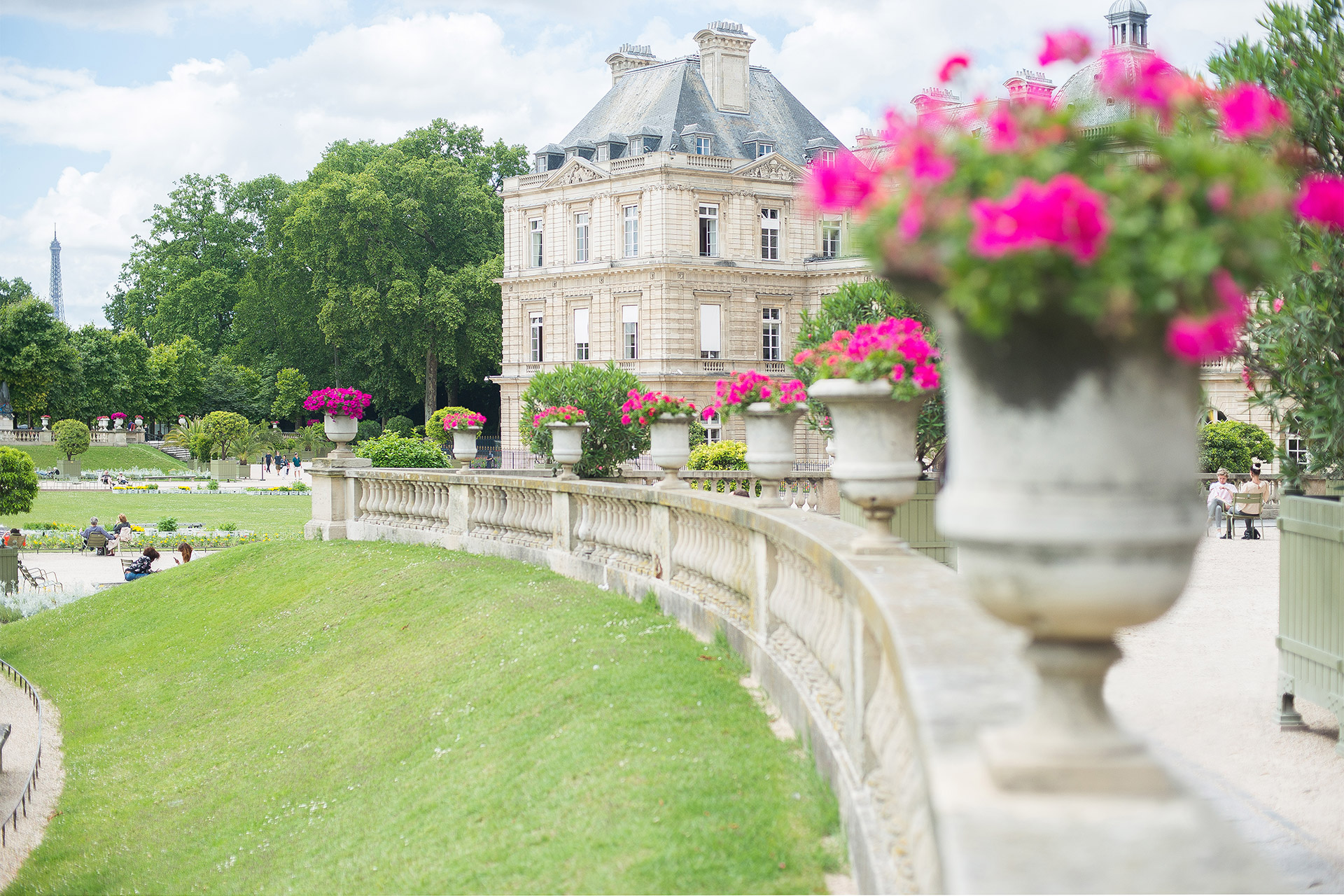 Bordeneuve Paris Perfect vacation rental is just a short walk from the Luxembourg Gardens