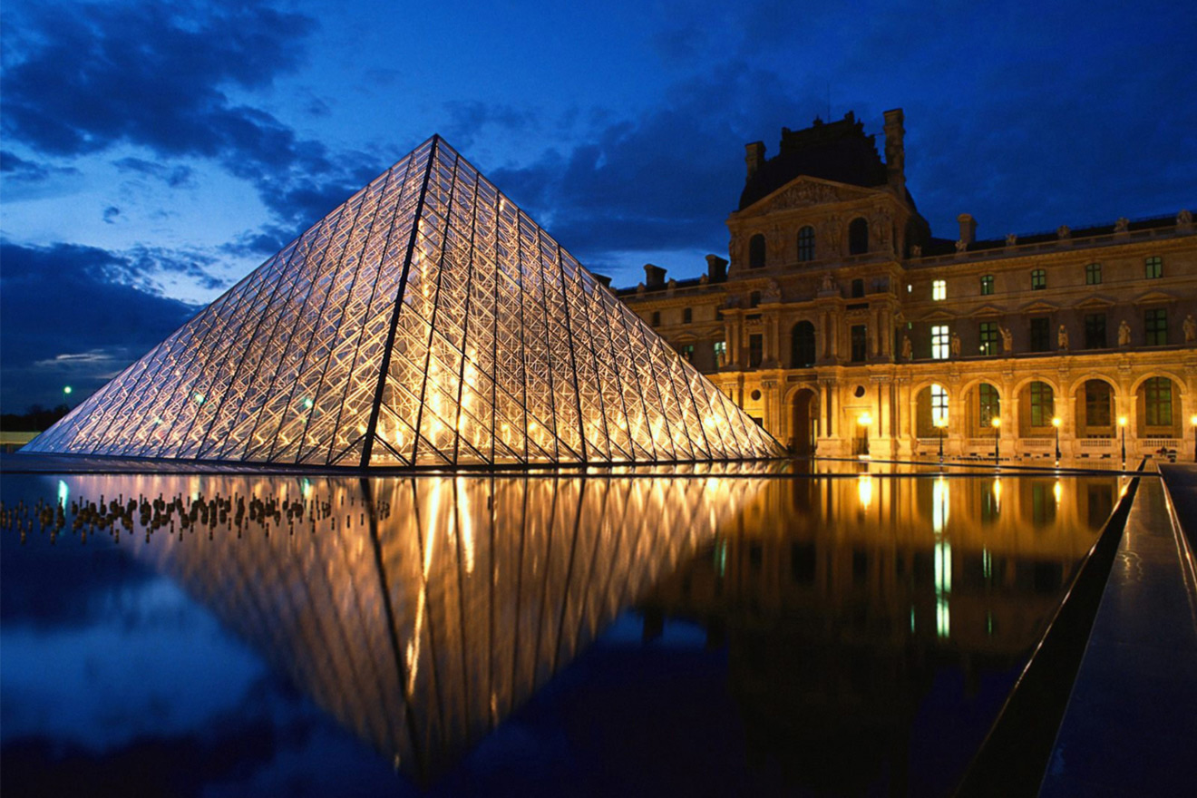 The Louvre is breathtaking in the day or at night
