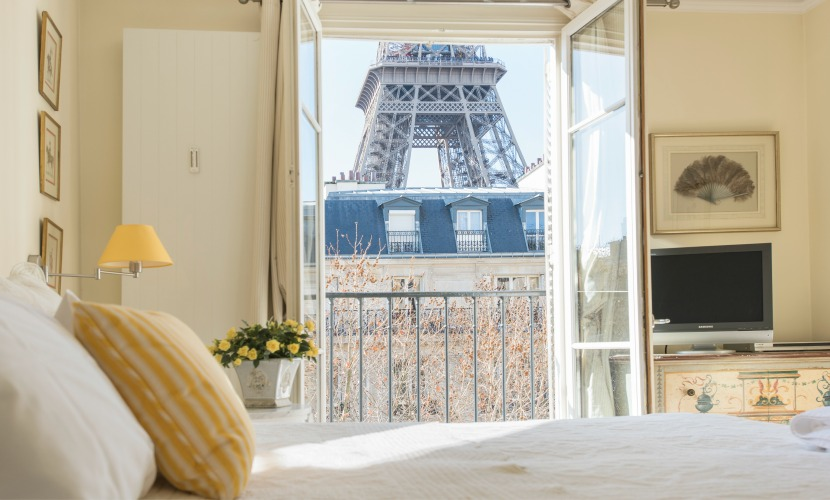 Eiffel Tower Paris Apartment Window