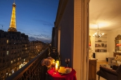 Eiffel Tower Apartment View