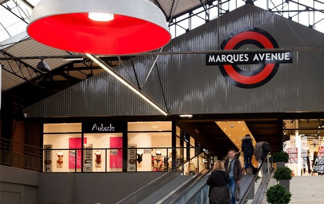 c79eb11a12 Marques Avenue  Troyes. The large outlet mall ...