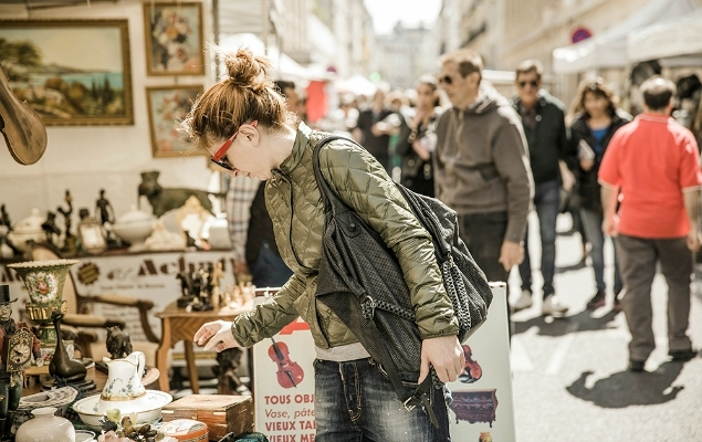 Paris Flea Markets - Paris Perfect