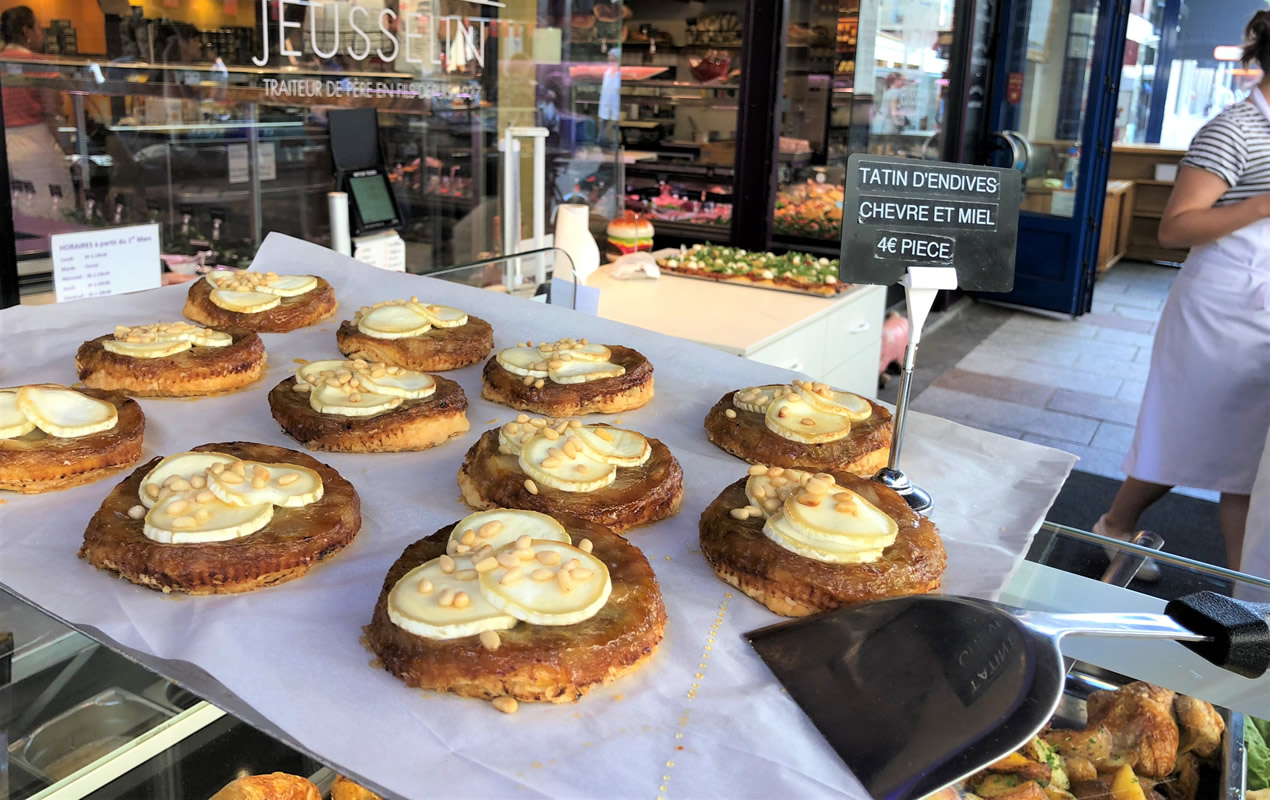 You'll visit this wonderful delicatessen, Jusselin daily