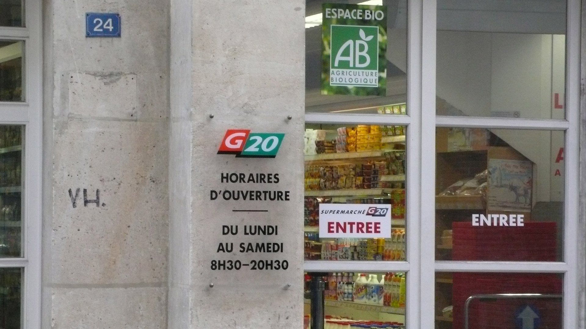 Paris Supermarkets & Greengrocers