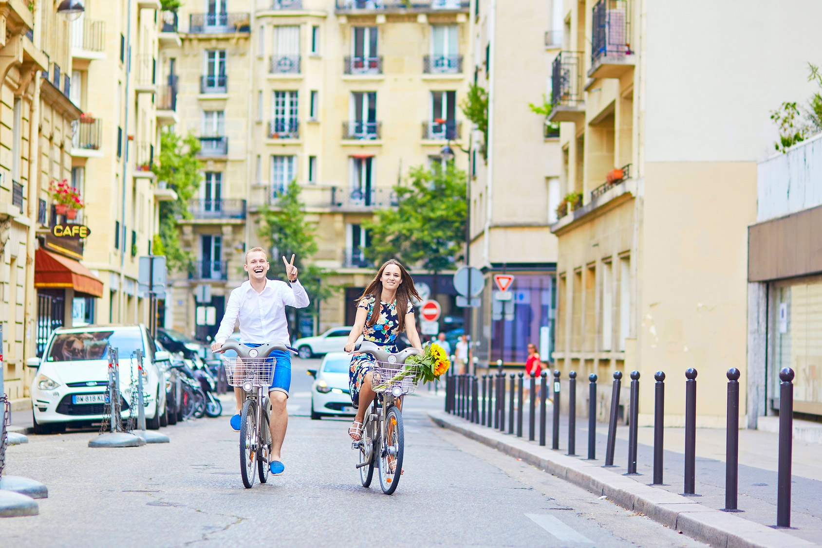 Renting a Bike in Paris