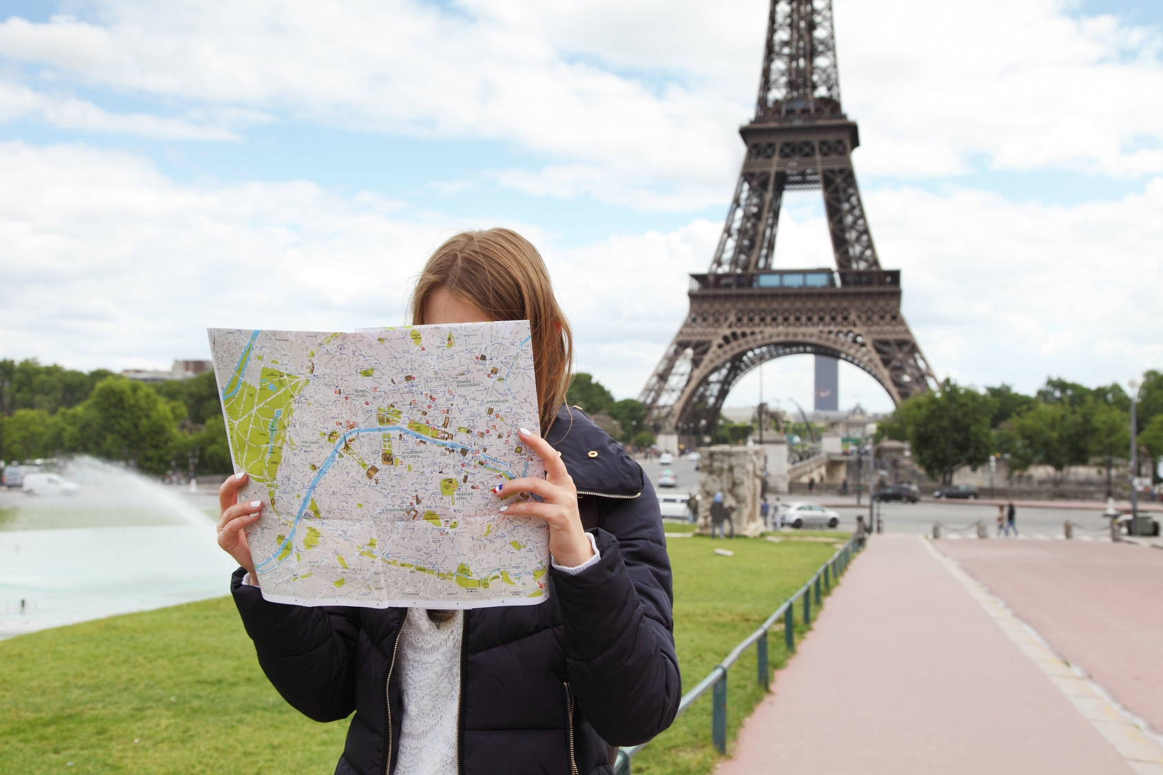 Paris Tourist Maps