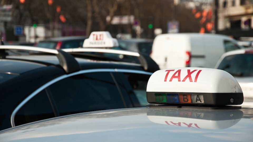 Catching a Taxi in Paris