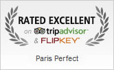 Paris Perfect Rated Excellent on Trip Advisor