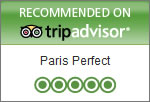 Paris Perfect Recommended on Trip Advisor