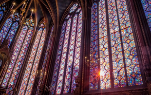 The Dazzling Stained Glass Windows of Sainte-Chapelle