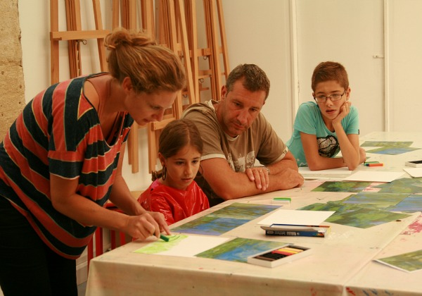 Impressionist Art Family Workshop