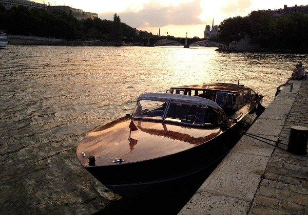 Private Yacht on the Seine